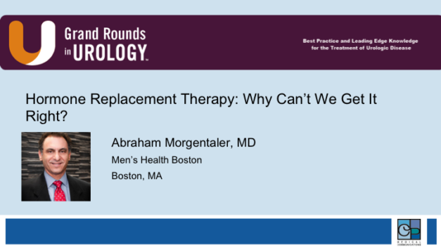 Hormone Replacement Therapy: Why Can't We Get It Right?