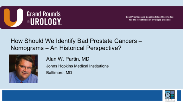 How Should We Identify Bad Prostate Cancers – Nomograms – An Historical Perspective?