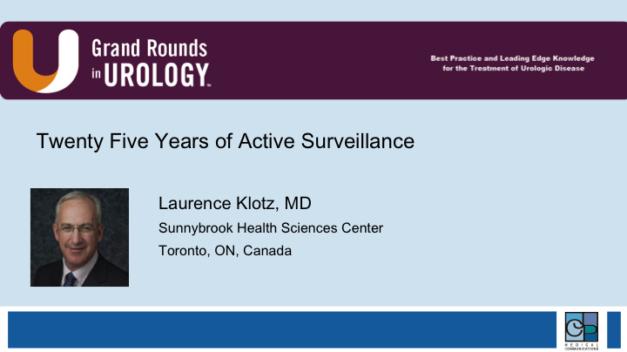 Twenty-Five Years of Active Surveillance