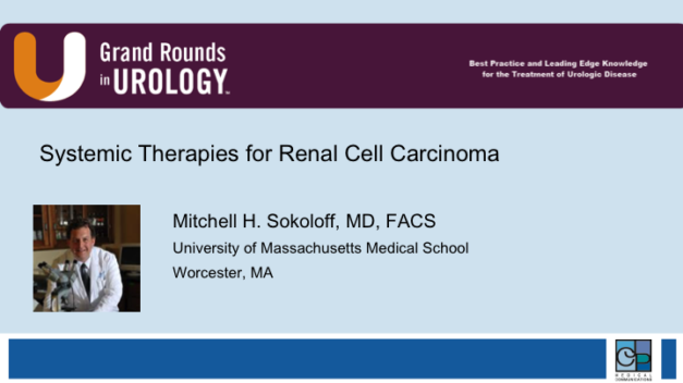 Systemic Therapies for Renal Cell Carcinoma