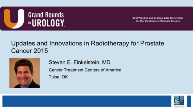 Updates and Innovations in Radiotherapy for Prostate Cancer 2015