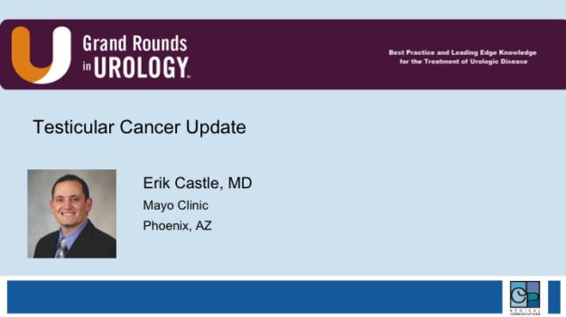Testicular Cancer Update
