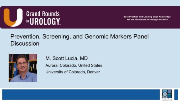 Prevention, Screening, and Genomic Markers Panel Discussion