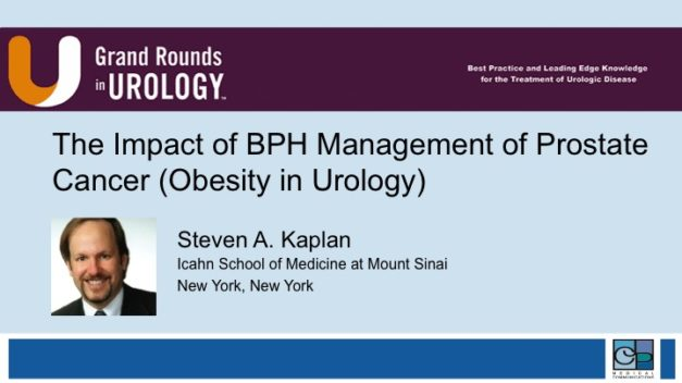 The Impact of BPH and Management of Prostate Cancer Obesity in Urology