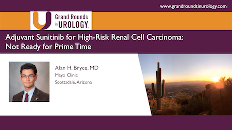 Adjuvant Sunitinib for High Risk Renal Cell Carcinoma: Not Ready for Prime Time
