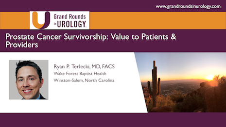 Prostate Cancer Survivorship: Value to Patients & Providers