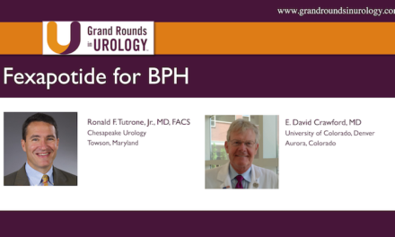 Fexapotide for BPH