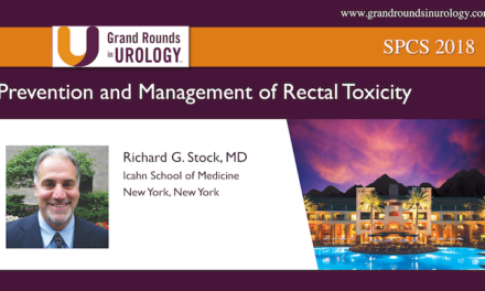 Prevention and Management of Rectal Toxicity