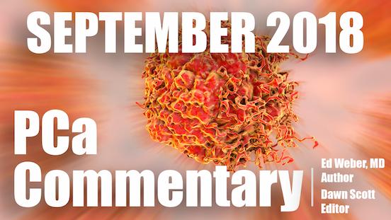 PCa Commentary | Volume 126 – September 2018