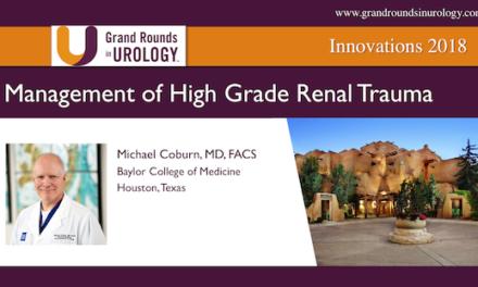 Management of High Grade Renal Trauma