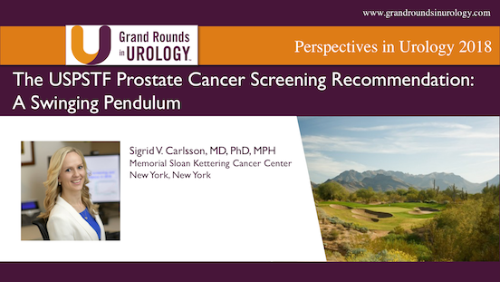 The USPSTF Prostate Cancer Screening Recommendation: A Swinging Pendulum