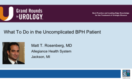 What To Do in the Uncomplicated BPH Patient