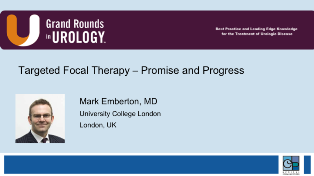 Targeted Focal Therapy – Promise and Progress