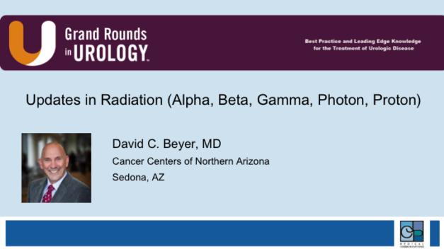 Updates in Radiation (Alpha, Beta, Gamma, Photon, Proton)