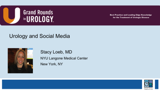 Urology and Social Media