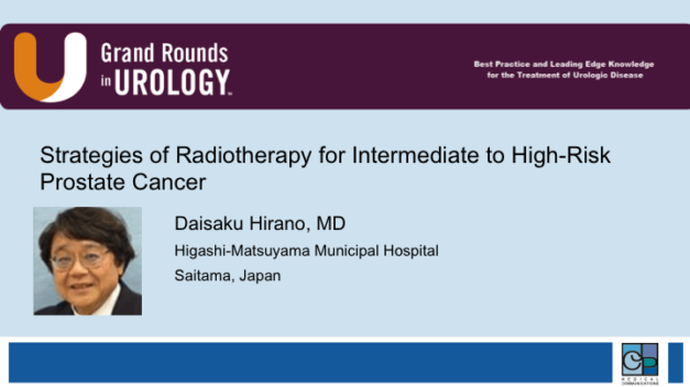 Strategies of Radiotherapy for Intermediate to High-Risk Prostate Cancer