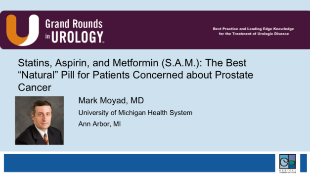 """Statins, Aspirin, and Metformin (S.A.M.): The Best """"Natural"""" Pill for Patients Concerned about Prostate Cancer"""