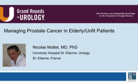 Managing Prostate Cancer in Elderly/Unfit Patients