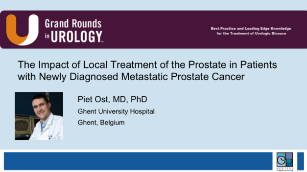The Impact of Local Treatment of the Prostate in Patients with Newly Diagnosed Metastatic Prostate Cancer
