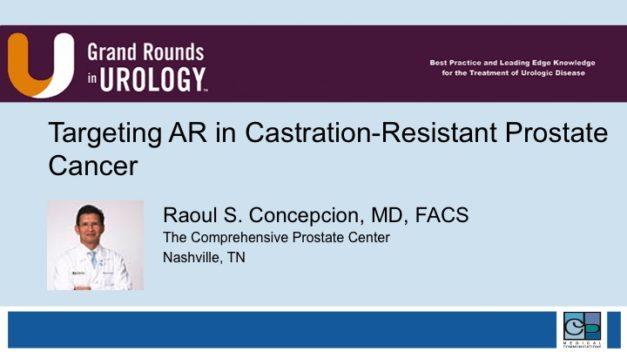 Targeting AR in Castration-Resistant Prostate Cancer