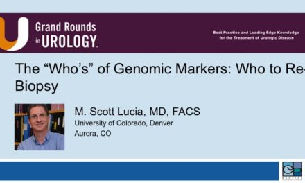 """The """"Who's"""" of Genomic Markers: Who to Re-Biopsy"""