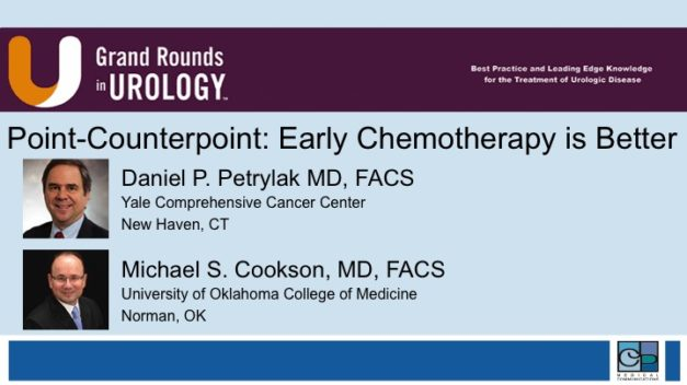 Point-Counterpoint: Early Chemotherapy is Better