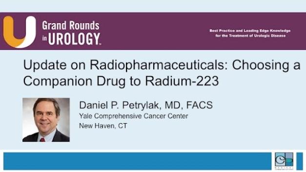 Update on Radiopharmaceuticals: Choosing a Companion Drug to Radium-223