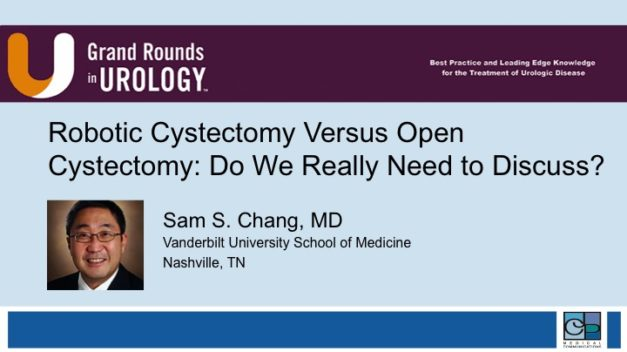 Robotic Cystectomy Versus Open Cystectomy: Do We Really Need to Discuss?