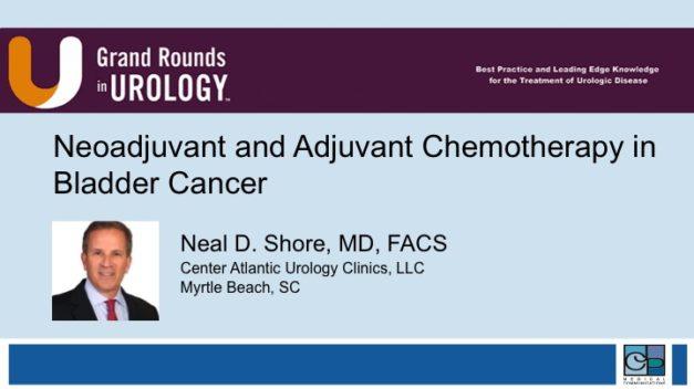 Neoadjuvant and Adjuvant Chemotherapy in Bladder Cancer