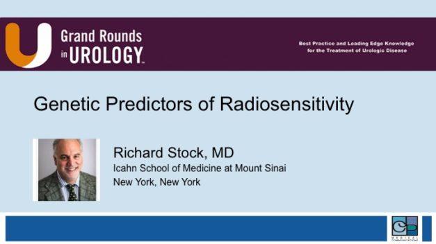 Genetic Predictors of Radiosensitivity