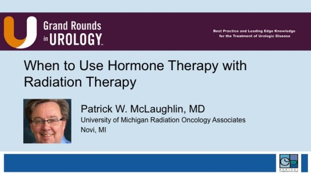 When to Use Hormone Therapy with Radiation Therapy