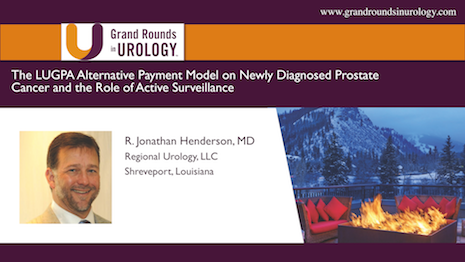 The LUGPA Alternative Payment Model (APM) on Newly Diagnosed PCa and the Role of Active Surveillance