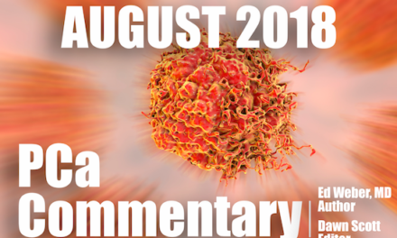 PCa Commentary | Volume 125 -August 2018