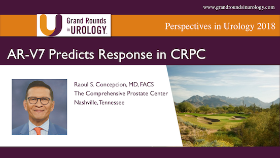 AR-V7 Predicts Response in CRPC