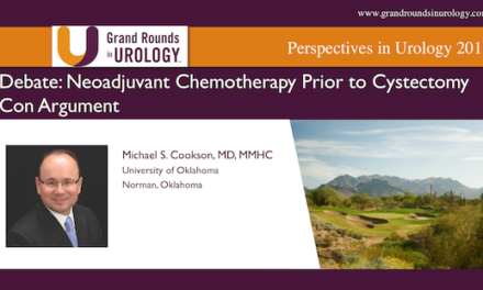 Debate: Neoadjuvant Chemotherapy Prior to Cystectomy | Con Argument