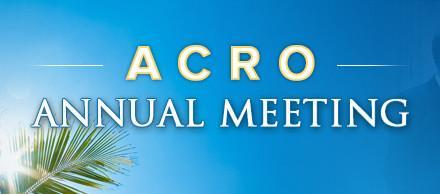 ACRO's Annual Meeting: Radiation Oncology Summit