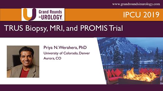 TRUS Biopsy, MRI, and PROMIS Trial