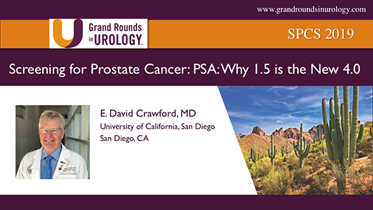 Screening for Prostate Cancer: PSA: Why 1.5 is the New 4.0