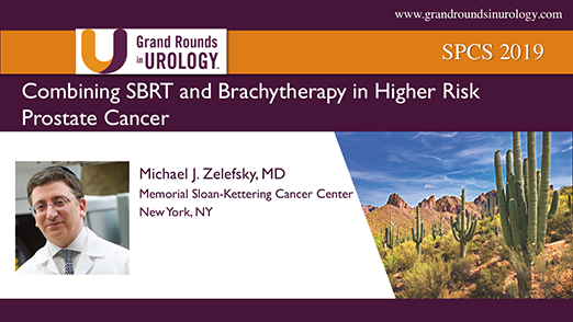 Combining SBRT and Brachytherapy in Higher Risk Prostate Cancer