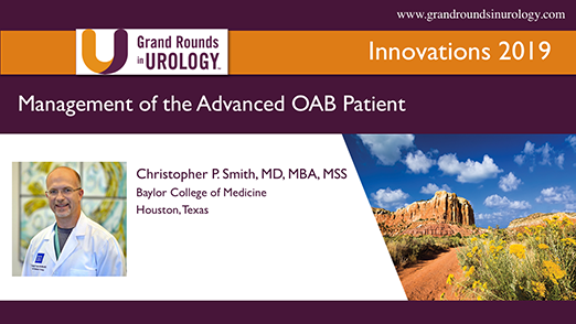 Management of the Advanced OAB Patient