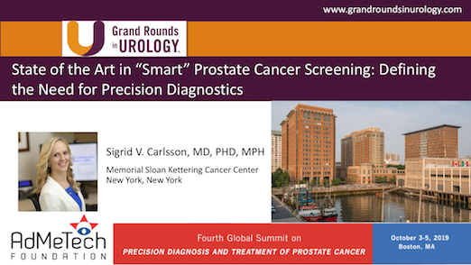 "State of the Art in ""Smart"" Prostate Cancer Screening: Defining the Need for Precision Diagnostics"