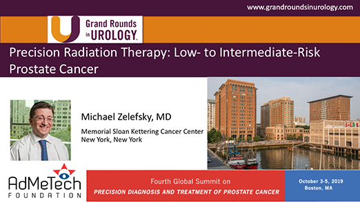Precision Radiation Therapy: Low- to Intermediate-Risk Prostate Cancer