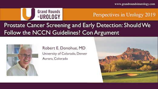 Prostate Cancer Screening and Early Detection: Should We Follow the NCCN Guidelines? Con Argument