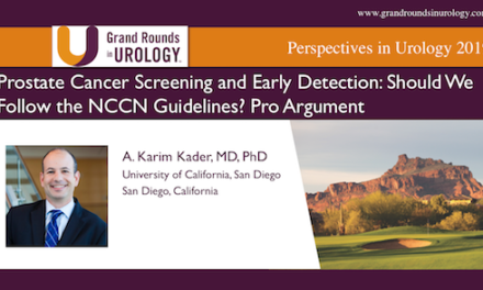 Prostate Cancer Screening and Early Detection: Should We Follow the NCCN Guidelines? Pro Argument