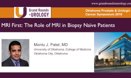 MRI First: The Role of MRI in Biopsy Naïve Patients
