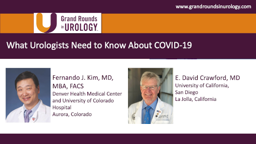 What Urologists Need to Know About COVID-19