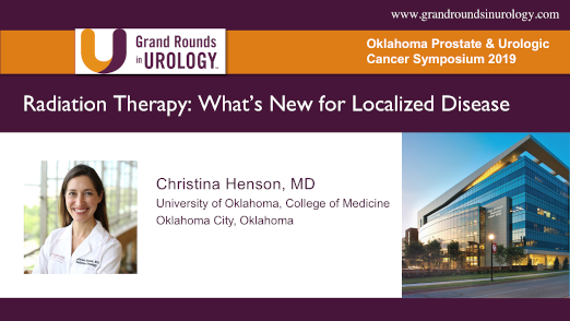Radiation Therapy: What's New for Localized Disease