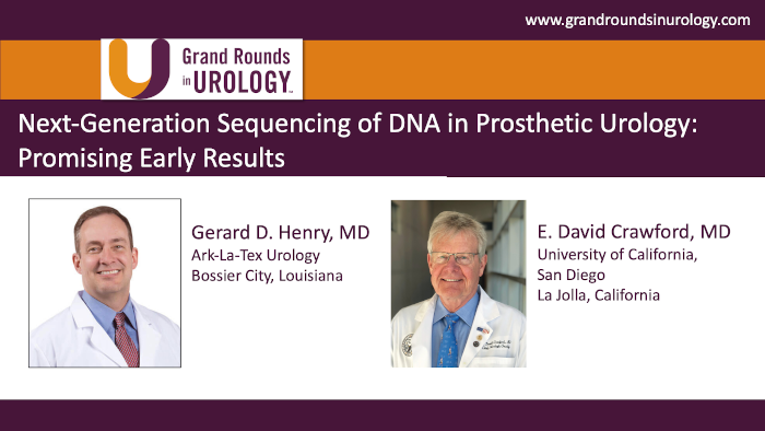 Dr. Henry - Next Generation Sequencing