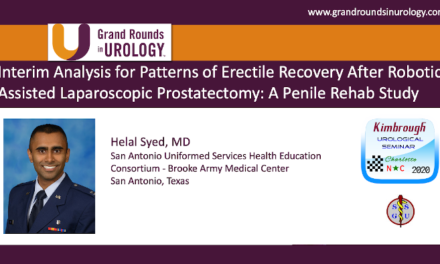 Interim Analysis for Patterns of Erectile Recovery After Robotic‐Assisted Laparoscopic Prostatectomy: A Penile Rehab Study