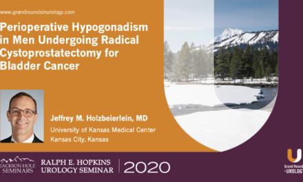 Perioperative Hypogonadism in Men Undergoing Radical Cystoprostatectomy for Bladder Cancer